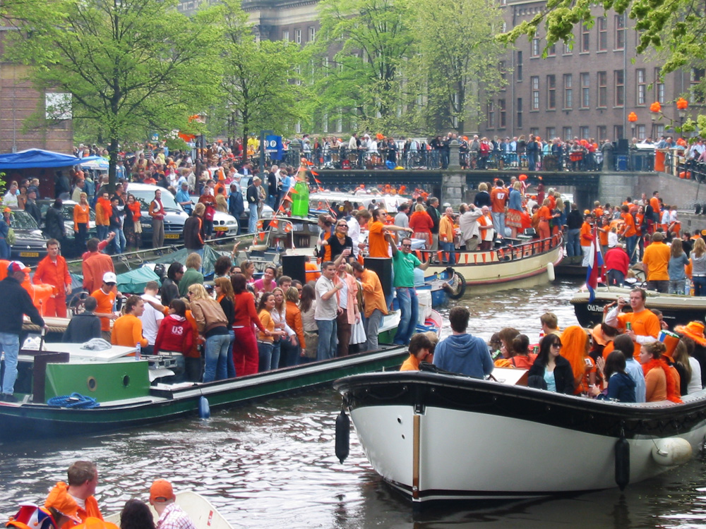 Vappukarnevaali Amsterdamissa