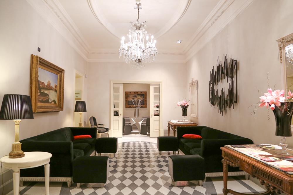 Suloinen putiikkihotelli Roomassa