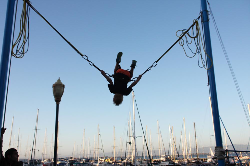 Juhannus San Franciscon satamassa