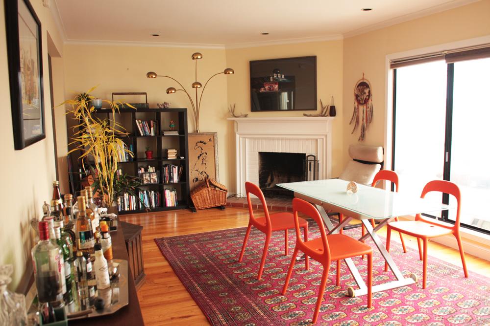 Tältä näyttää Airbnb-kotimme San Franciscossa