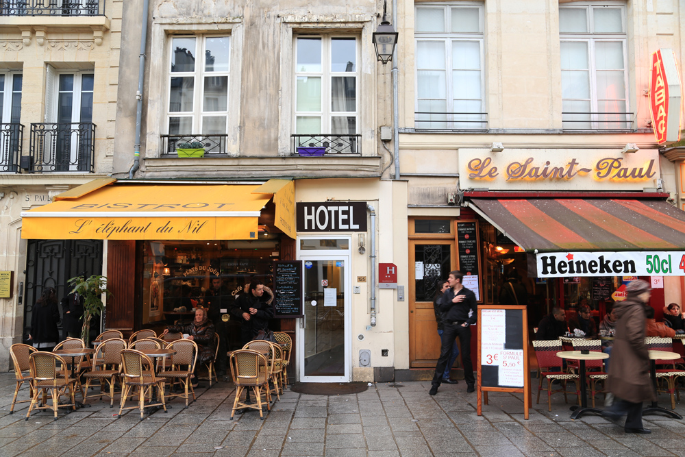 Parisuhdeterapiaa Pariisissa