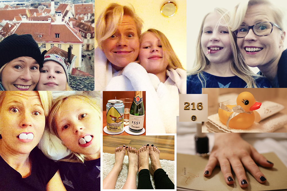 Tyttöjen hemmotteluloma Tallinnassa